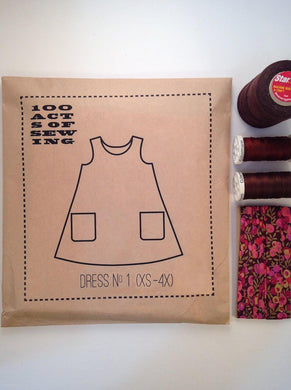 100 Acts of Sewing:  Dress No. 1
