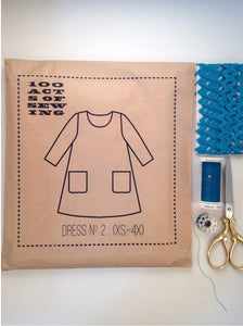 100 Acts of Sewing:  Dress No. 2
