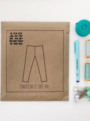 100 Acts of Sewing:  Pant No. 2