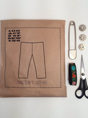 100 Acts of Sewing:  Pant No. 1