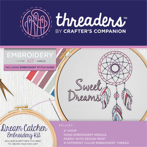 Crafter's Companion: threaders Embroidery Kit - Dream Catcher - TH1295