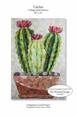 Laura Heine Patterns – Cactus Collage Quilt # ETD-7