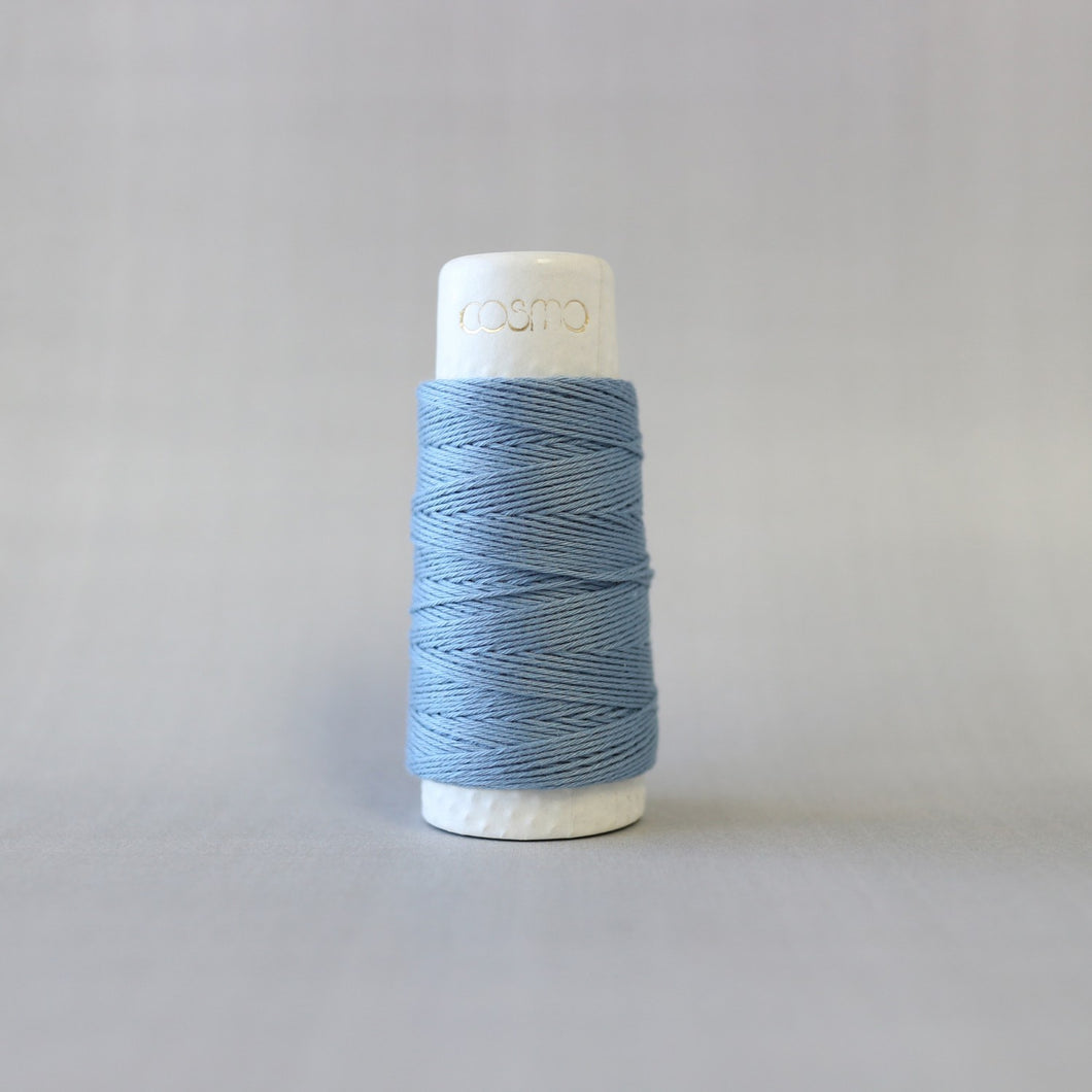 Cosmo Hidamari: Sashiko Solid Thread 30 Meters - Russian Blue - 88-001