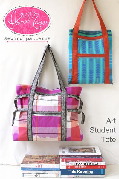 Anna Maria: Art Student Tote Pattern
