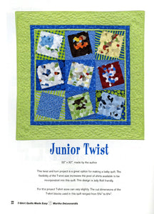T-Shirt Quilts Made Easy Book - AQS8664