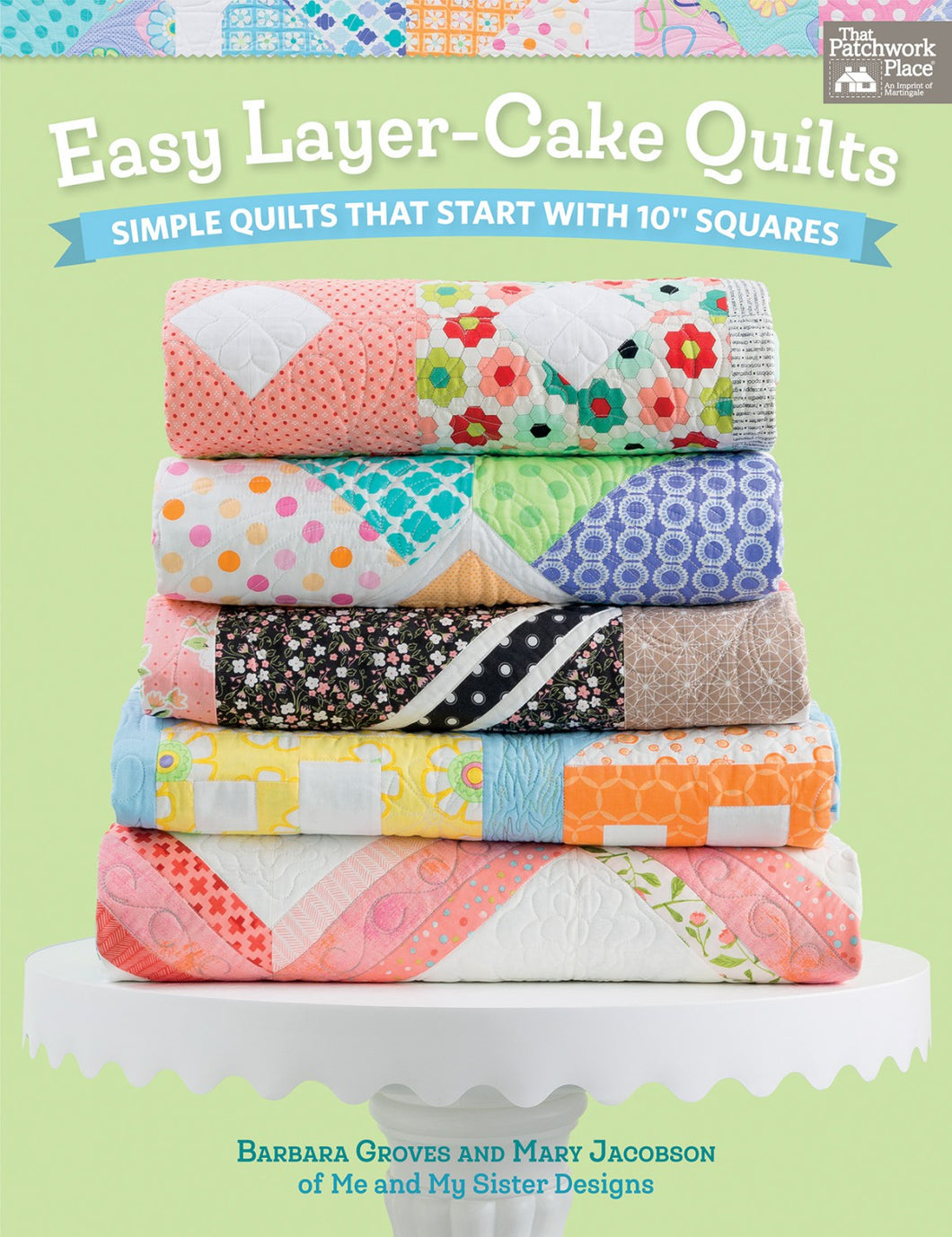 Easy Layer Cake Quilts - Book - B1418T