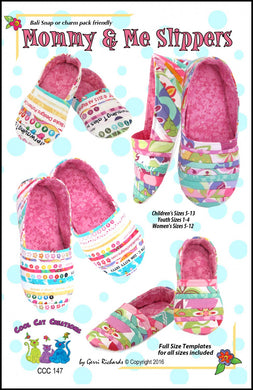 Cool Cat Creations: Mommy & Me Slippers Pattern