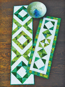 Cut Loose Press:  Fraternal Twins Table Runners Quilt Pattern