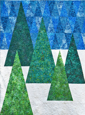 Cut Loose Press:  Evergreen Quilt Pattern