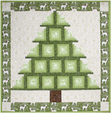 Load image into Gallery viewer, Cut Loose Press: Log Cabin Tree Quilt Pattern