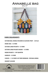 Cotton Street Commons: Anabelle Bag Pattern - CSC218