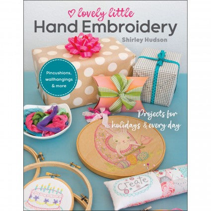 Lovely Little Hand Embroidery - Book - CTP11366