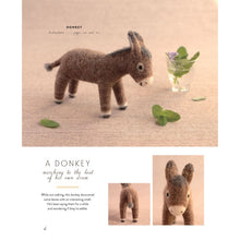 Load image into Gallery viewer, Happy Wool Felt Animals - Book - CTP11410