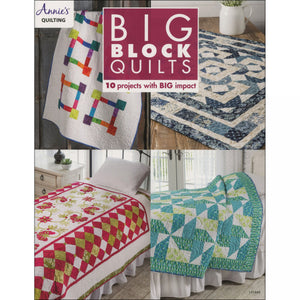 Annie's Quilting: Big Block Quilts - Book - DRG141448