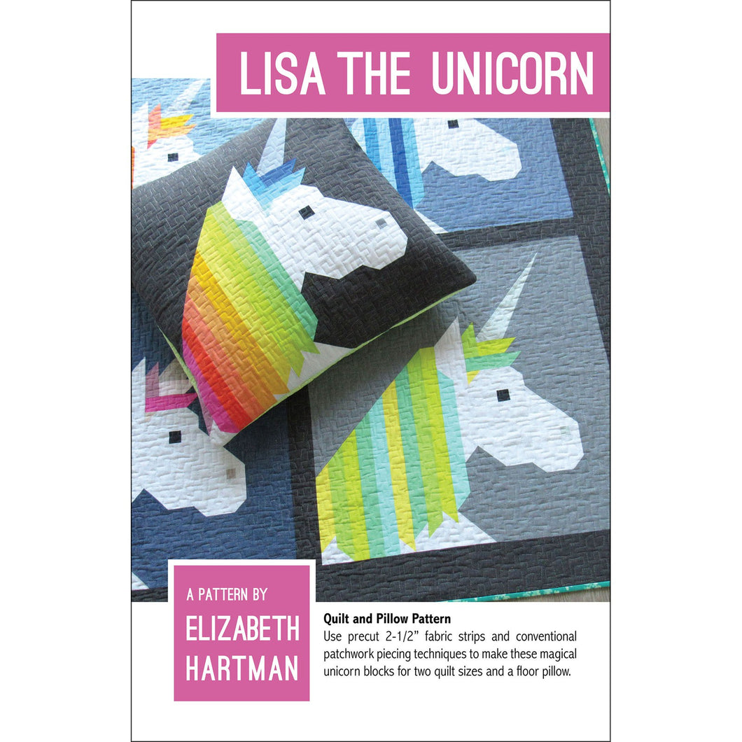 Elizabeth Hartman Pattern: Lisa The Unicorn