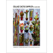 Load image into Gallery viewer, Laura Heine Patterns – Collage Cactus Sampler