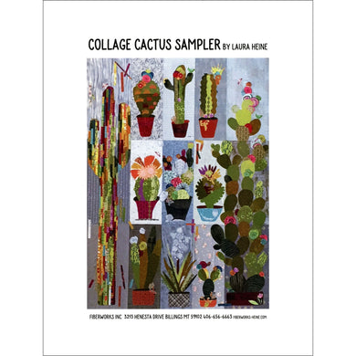 Laura Heine Patterns – Collage Cactus Sampler