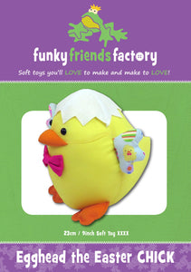 Egghead Easter Chick Pattern