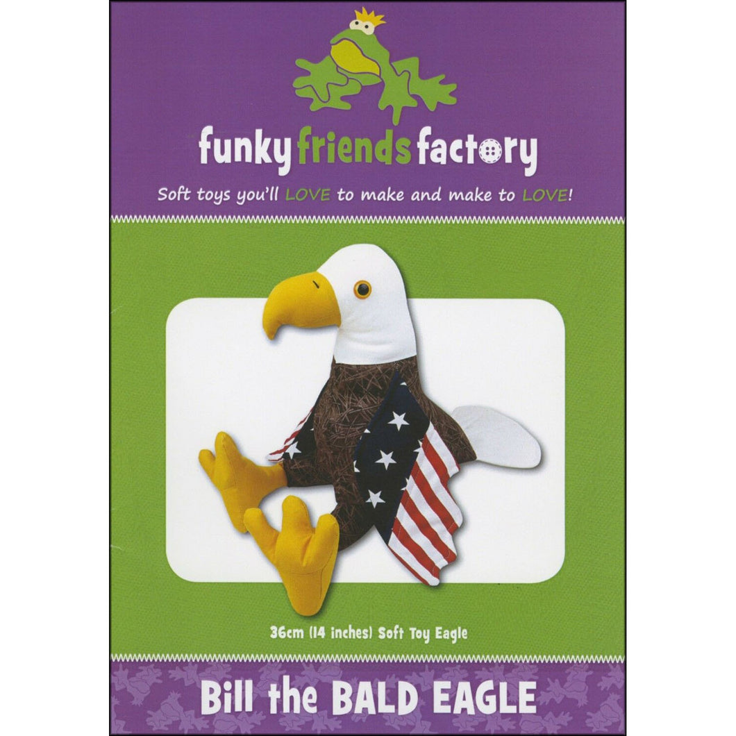 Bill the Bald Eagle Pattern