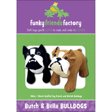 Load image into Gallery viewer, Butch & Bella Bulldog Pattern
