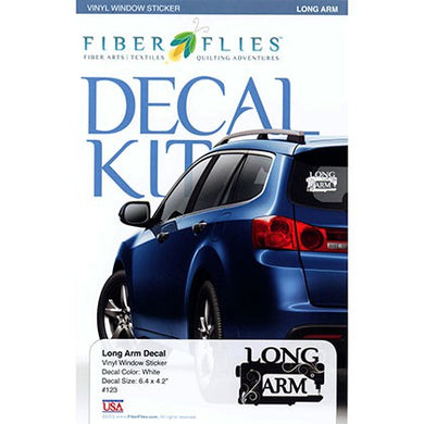 Vinyl Window Decal - Long Arm - FFD123