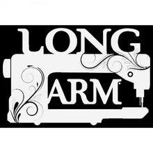 Load image into Gallery viewer, Vinyl Window Decal - Long Arm - FFD123