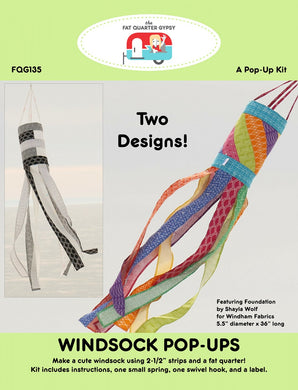 Fat Quarter Gypsy: Windsock Pop Up Kit Pattern