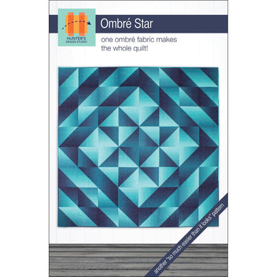 Hunter's Design Studio: Ombre Star Pattern - HDS054