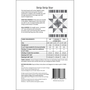 Hunter's Design Studio: Strip Strip Star - HDS081
