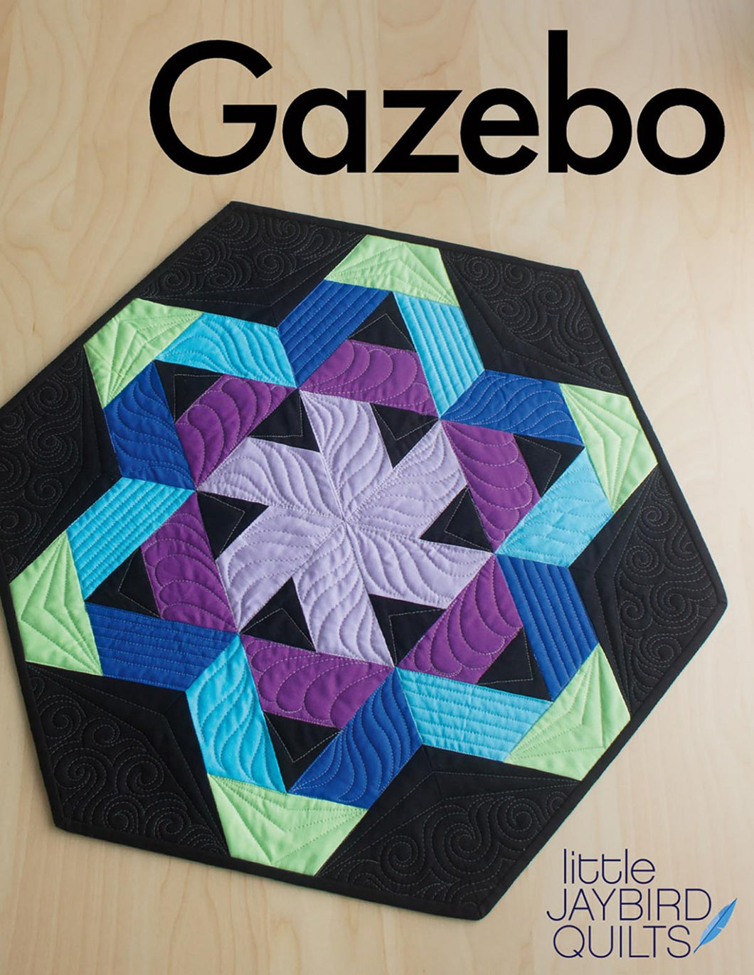 Jaybird Quilts: Hexagon Table Topper Pattern