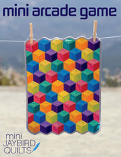 Load image into Gallery viewer, Jaybird Quilts: Mini Arcade Game Quilt Pattern