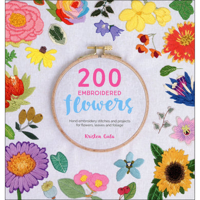 200 Embroidered Flowers Book