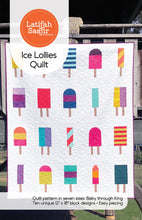 Load image into Gallery viewer, Latifah Saafir Studios: Ice Lollies Quilt - LSS00018