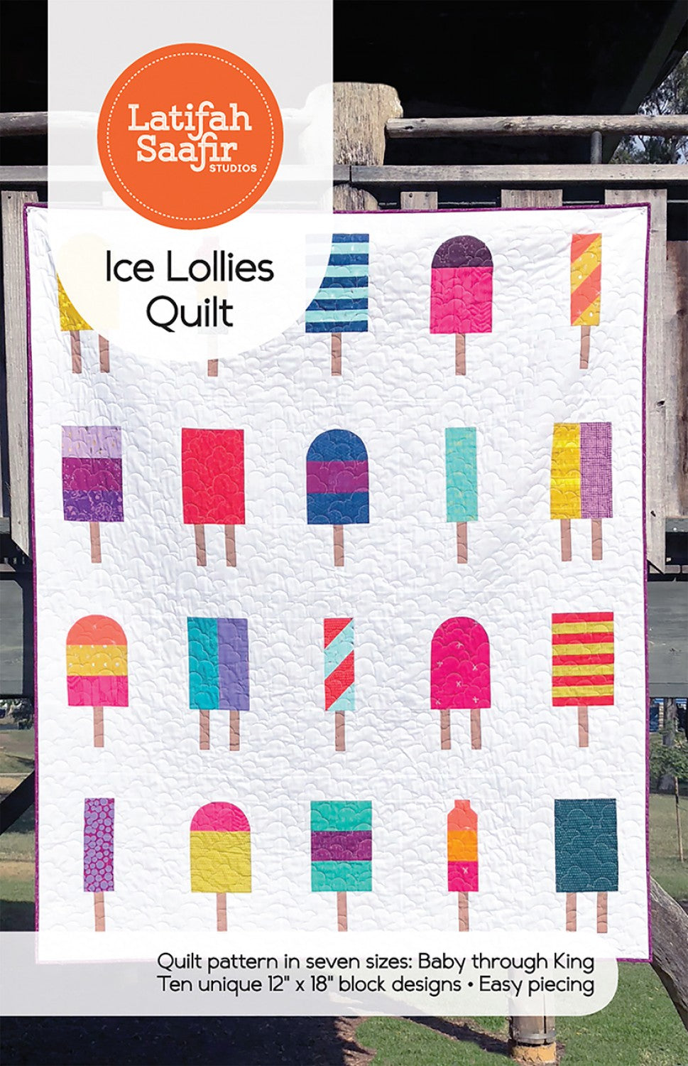 Latifah Saafir Studios: Ice Lollies Quilt - LSS00018