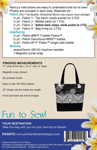 Load image into Gallery viewer, Pink Sand Beach Designs: Aloha Tote Pattern - PSB132