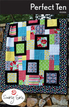 Load image into Gallery viewer, Swirly Girls Design: Perfect Ten Quilt Pattern