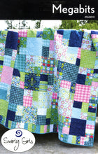 Load image into Gallery viewer, Swirly Girls Design: Megabits Quilt Pattern