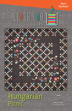 Load image into Gallery viewer, Stash Lab Quilts: Hungarian Picnic Quilt Pattern - TA-111