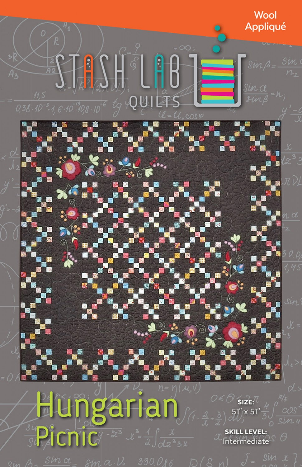 Stash Lab Quilts: Hungarian Picnic Quilt Pattern - TA-111