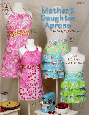 Mother Daughter Aprons - Pattern Book - TMB172