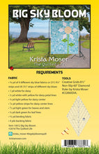 Load image into Gallery viewer, Krista Moser: Big Sky Bloom Quilt Pattern