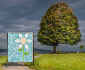 Krista Moser: Big Sky Bloom Quilt Pattern