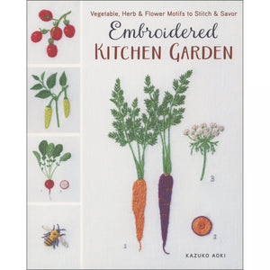 Embroidered Kitchen Garden - Book