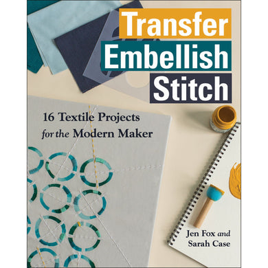 Transfer Embellish Stitch Book