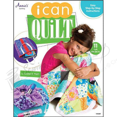 Annie's Quilting: I can Quilt Softcover Book