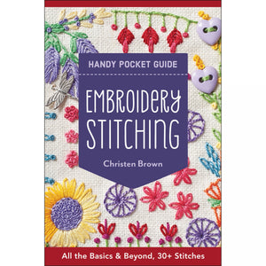 Embroidery Stitching - Handy Pocket Guide