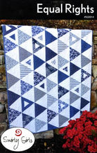 Load image into Gallery viewer, Swirly Girls Design: Equal Rights Quilt Pattern - SGD014