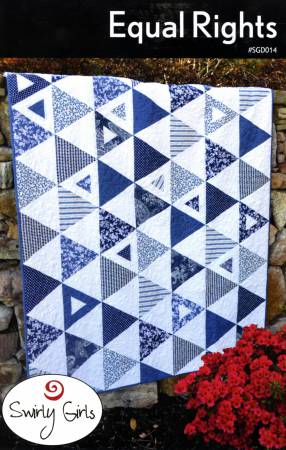 Swirly Girls Design: Equal Rights Quilt Pattern - SGD014