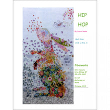 Load image into Gallery viewer, Laura Heine Patterns – Hip Hop Rabbit Collage - LHFWHIP
