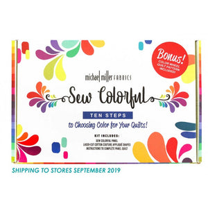 Michael Miller Fabrics: Sew Colorful Kit